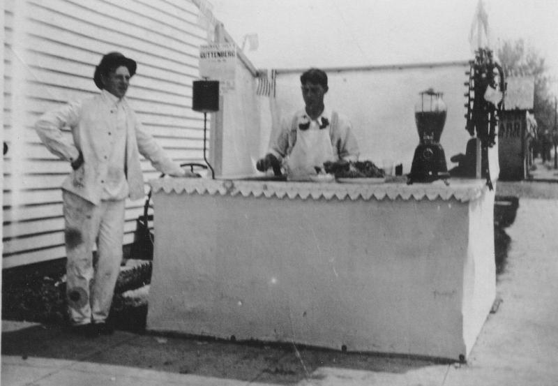 history of pete's hamburger stand
